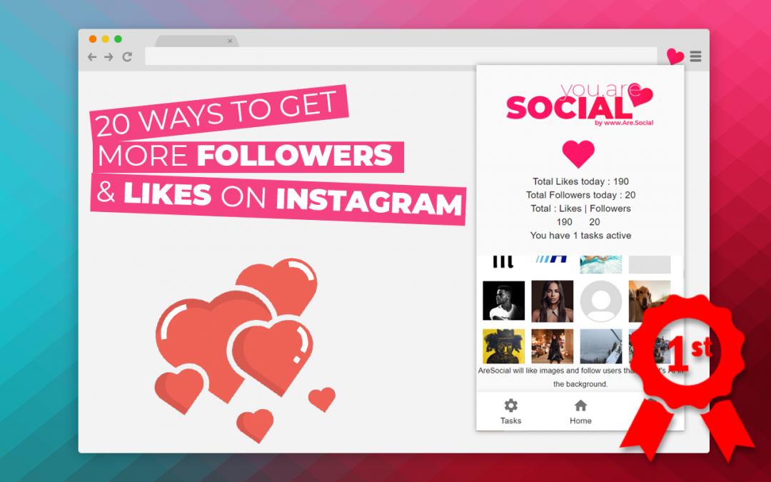 20 façons d'obtenir plus de followers Instagram GRATUITEMENT