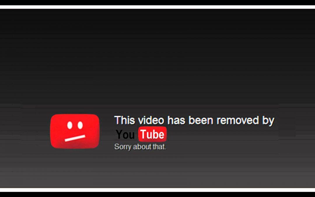 Modification des directives de la communauté Youtube