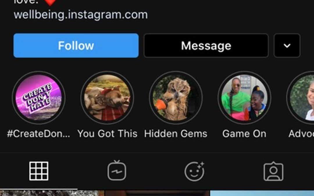 La mise à jour Instagram introduit la prise en charge du mode sombre iOS 13