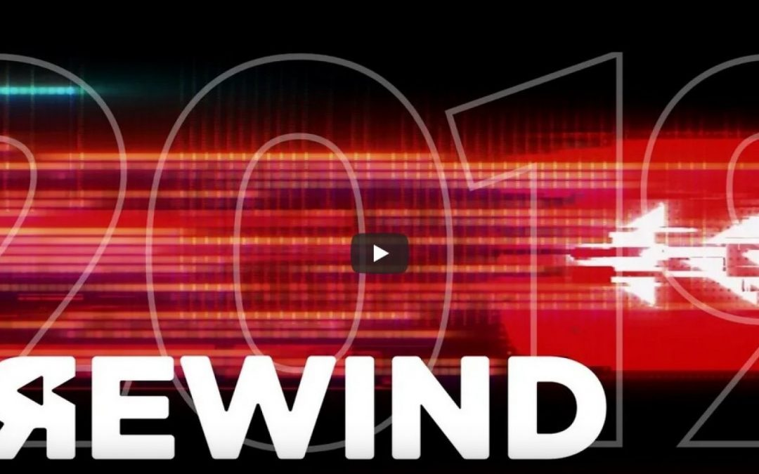 YouTube cesse complètement d'essayer Rewind 2019